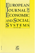 European Journal of Economic and Social Systems Cover page